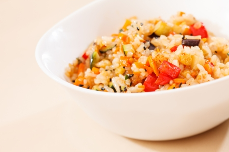 rice with vegetables Stock Photo - 15949250