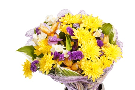 bouquet of colorful flowers Stock Photo - 16230142