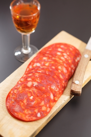 chorizo: red spanish chorizo