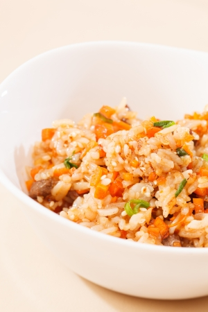 rice with vegetables Stock Photo - 16338424