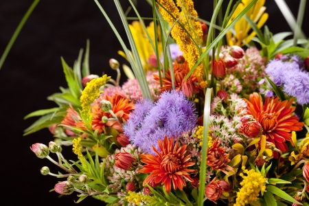 bouquet of colorful flowers  Stock Photo - 16497880
