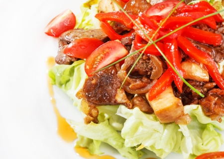 meat with vegetables Stock Photo - 16497707