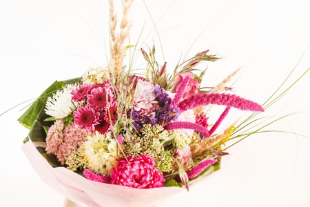 bouquet of colorful flowers Stock Photo - 16497703