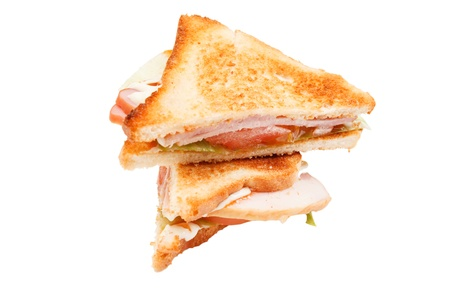 sandwiches with ham and cheese Stock Photo - 16563723