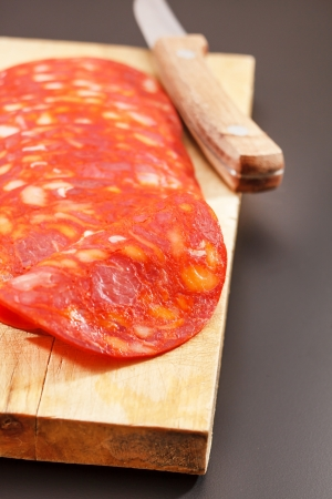 embutido: red spanish chorizo