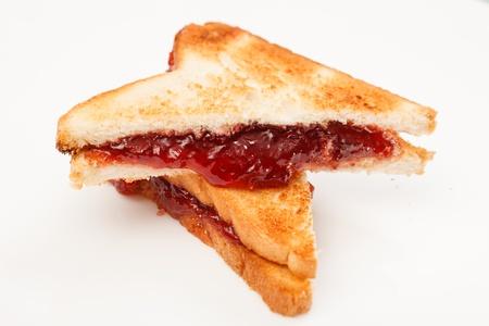 jelly sandwich: jelly sandwich  Stock Photo