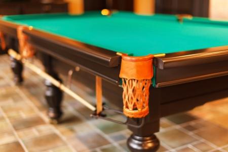 pool room: Pool room Stock Photo