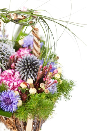 bouquet of colorful flowers Stock Photo - 17211292
