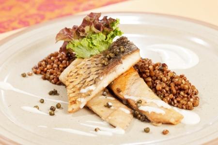 lentilha: carpa com lentilha verde