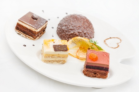 tasty desserts Stock Photo - 17507278