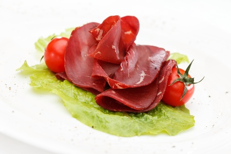meat appetizer Stock Photo - 18035460