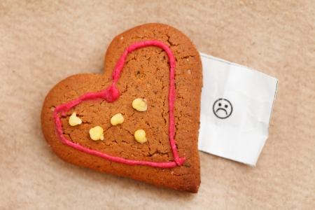 heart cookie Stock Photo - 18035487