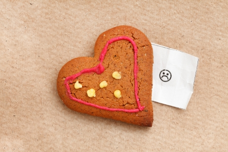 heart cookie Stock Photo - 18035803
