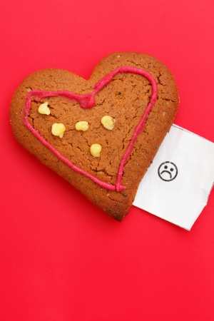 heart cookie Stock Photo - 18043906