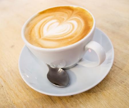cappuccino: cup of cappuccino Stock Photo