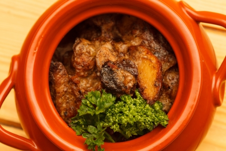 meat in the pot Stock Photo - 18606733