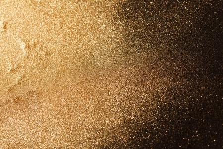 polvo: fondo de oro