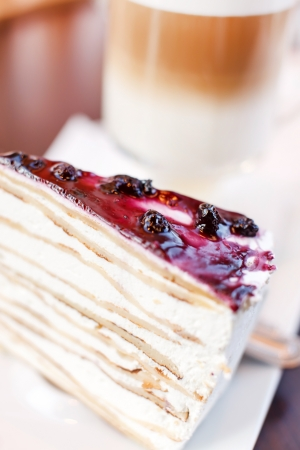 blueberry cheesecake photo