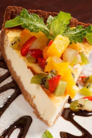 shortcake: cheesecake with fruits