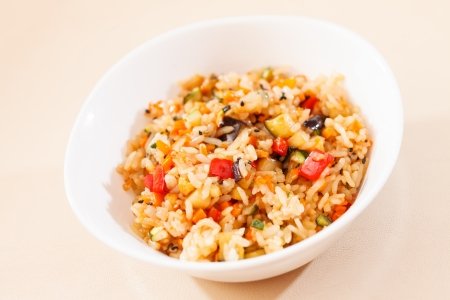 rice with vegetables Stock Photo - 19346353