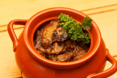 meat in the pot Stock Photo - 20414800