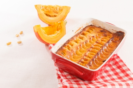 pumpkin tart photo