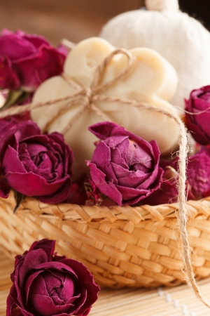 soap with roses photo