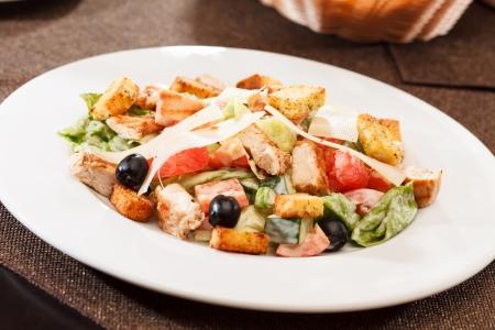 Ceasar salad Фото со стока
