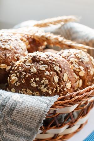 canasta de pan: Pan fresco