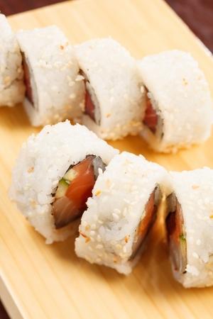 tasty sushi photo