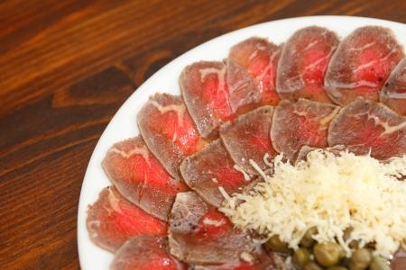 Meat Carpaccio  photo