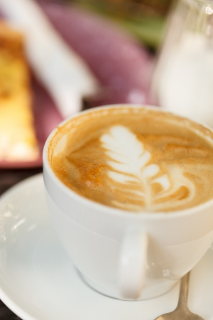 cappaccino: cappuccino on the table