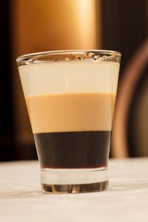 baileys: cocktail in the bar