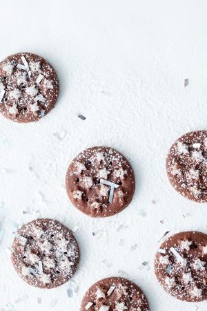 cioccolato natale: cioccolato biscotti di Natale
