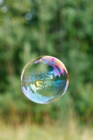 soap bubble outdoor photo