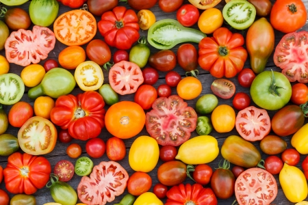 kleurrijke tomaten