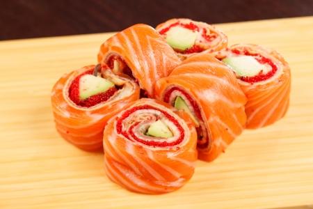 tasty sushi Stock Photo