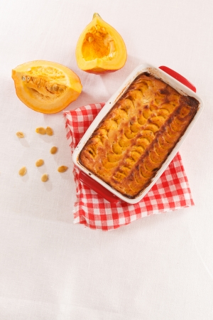 pumpkin tart Stock Photo - 22641147