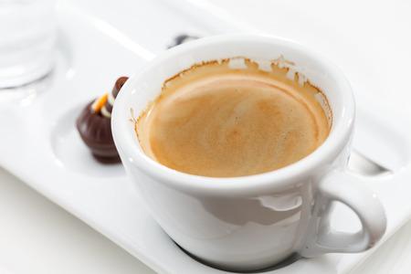 americano: Caffè Americano Stock Photo
