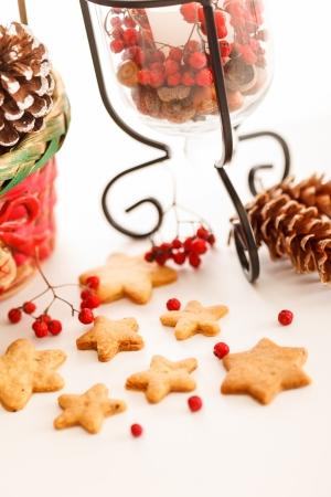 biscotti di natale: Biscotti di Natale Archivio Fotografico