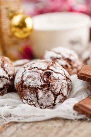 noel chocolat: biscuits au chocolat de No�l