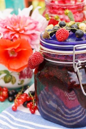 Berry jam photo