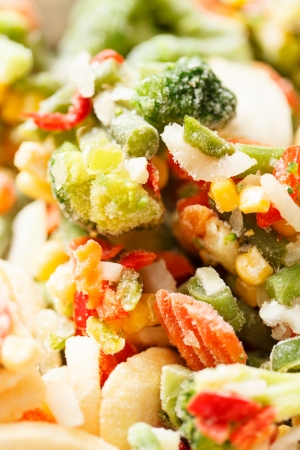 alimentos congelados: legumbres congeladas