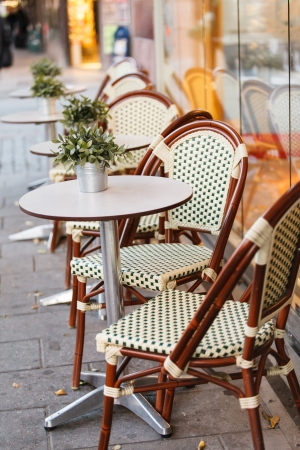 street cafe in Stockholm photo