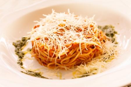 Spaghetti Bolognese Archivio Fotografico - 23804249