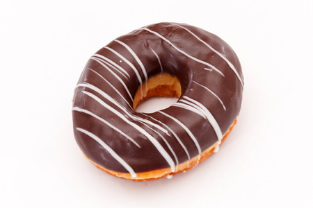 doughnuts isolated on white
