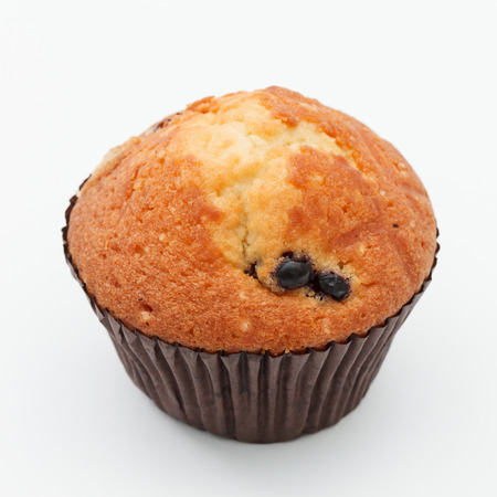 black currant: muffin with black currant