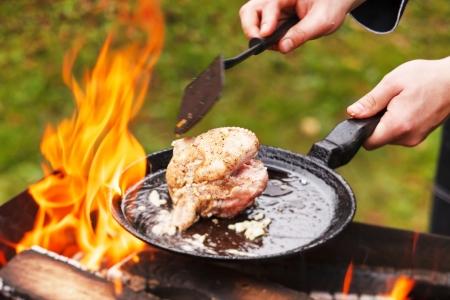 chef at work Reklamní fotografie