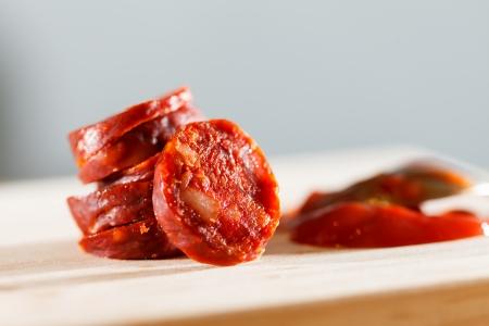 saucisses espagnoles Banque d'images