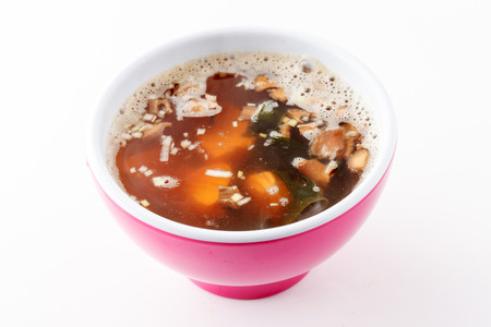 Japanese soup photo